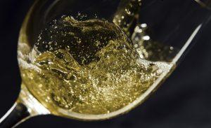 Gas en vino