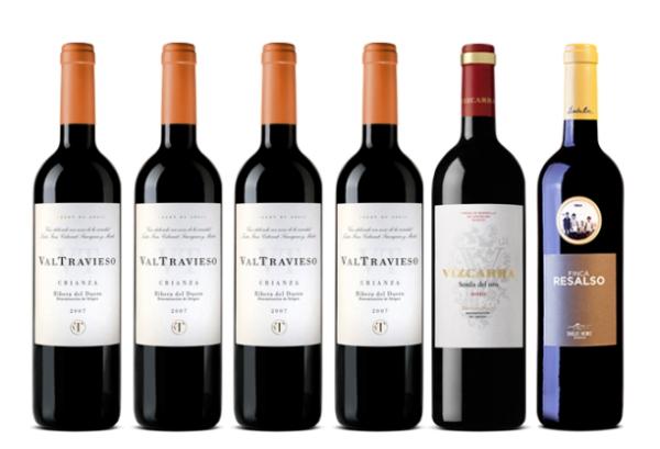 lote de vinos con descuento ribera del duero