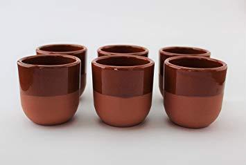 vaso de barro para vino